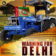 Warning For Delhi